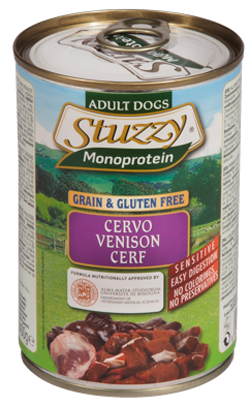 Stuzzy Monoprotein Grain & Gluten Free Dog | Venison