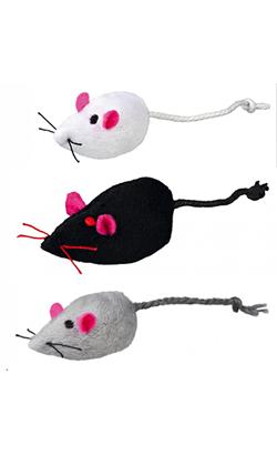 Trixie Brinquedo Rato de Peluche Sortido
