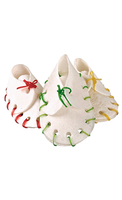 Trixie Denta Fun Dog Snack Chewing Shoes (Blister c/ 10 unidades)