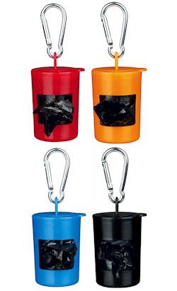 Trixie Dispensador de Sacos de Plástico com Mosquetão | Cores Sortidas