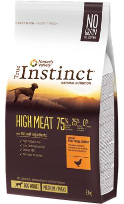 True Instinct Dog Adult High Meat Medium-Maxi Chicken