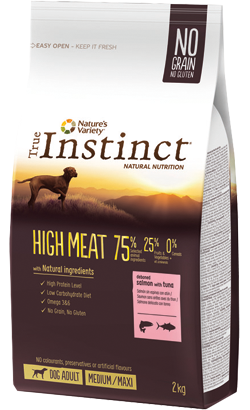 True Instinct Dog Adult High Meat Medium-Maxi Salmon & Tuna