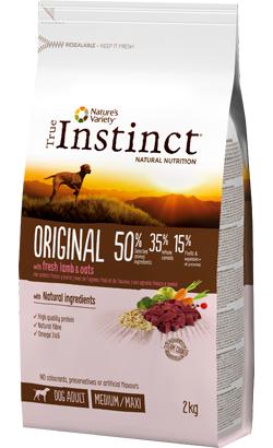 True Instinct Dog Adult Original Medium-Maxi Lamb & Oats