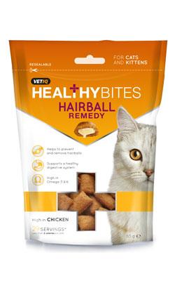Vetiq HealthyBites Hairball Remedy Treats Cat