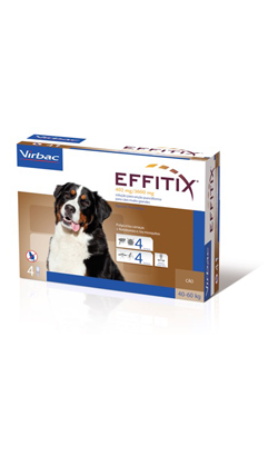 Virbac Dog Effitix -XL- Spot-On 40-60 kg