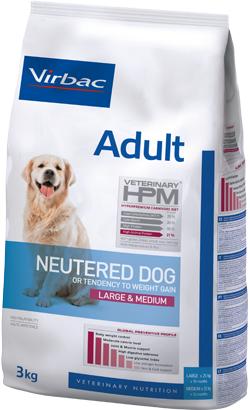 Virbac HPM Adult Neutered Dog Large & Medium