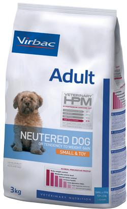 Virbac HPM Adult Neutered Dog Small & Toy