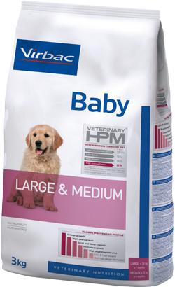 Virbac HPM Baby Dog Large & Medium