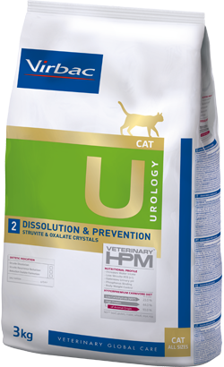 Virbac Veterinary HPM U2 Cat Dissolution & Prevention
