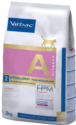 Virbac Veterinary HPM A2 Cat Hypoallergy with Salmon