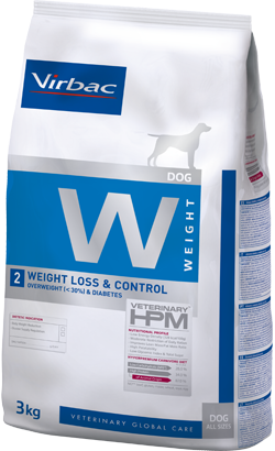 Virbac Veterinary HPM W2 Dog Weight Loss & Control